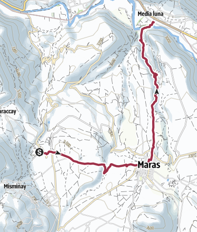 地图 / Hike to Moray & Maras