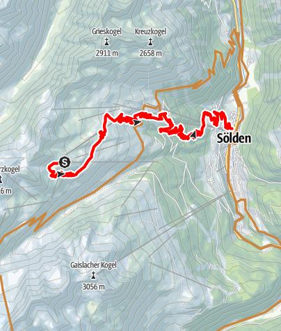 Karte / Long Line Giggijoch