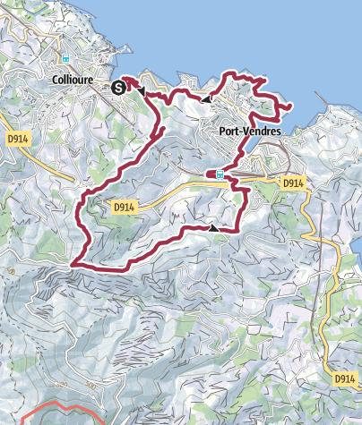 Karte / Puig de les Daines