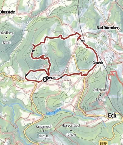 Karte / Auer Konventionsweg