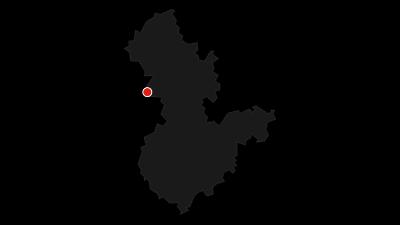 Karte / Auf der Vennbahn von Monschau nach Aachen