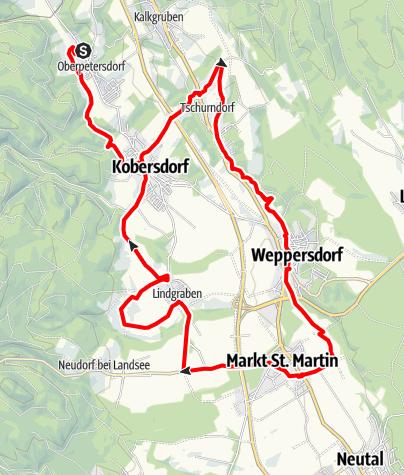 Karte / B42 Waldquellenweg