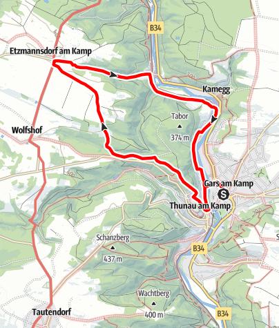 Map / Etzmannsdorf-Rundweg
