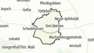 Mapa / Drei Gleichen