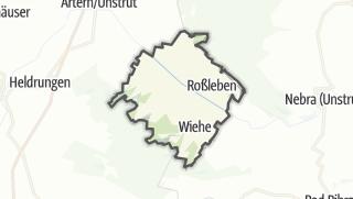 Carte / Roßleben-Wiehe