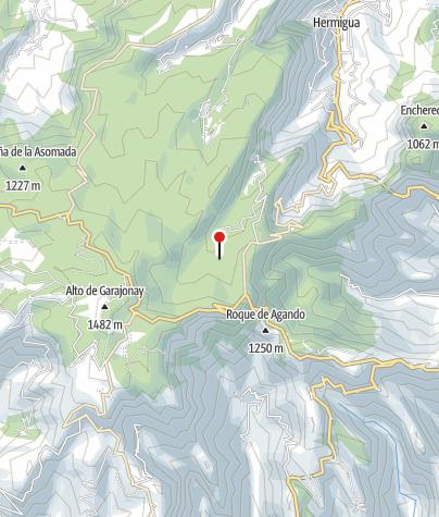 Karte / Best La Gomera Wandern (15 Tage) - Inseltrekking & Relaxen
