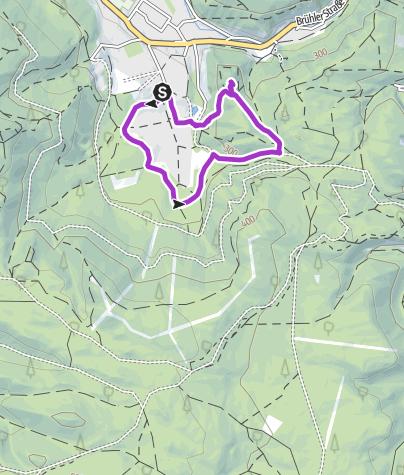 Karte / Meiereiwiese & Burgruine Mödling - Genussrunde