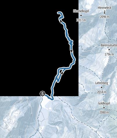 Map / Moartörl von der Bergerhube