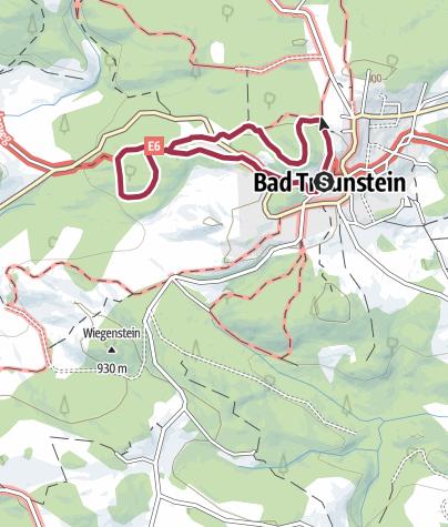 Karte / Stein-Gigantenweg