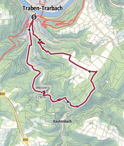 Karte / T 3 - Mosel Bergromantik