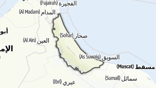 Map / Al Batinah North
