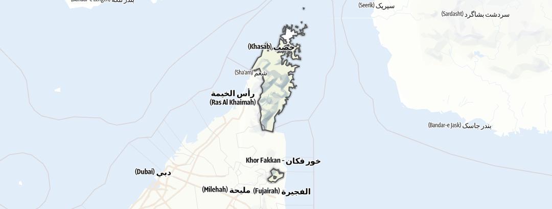Kartta / Musandam