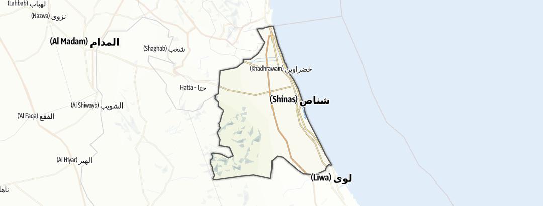 Karte / Shinas