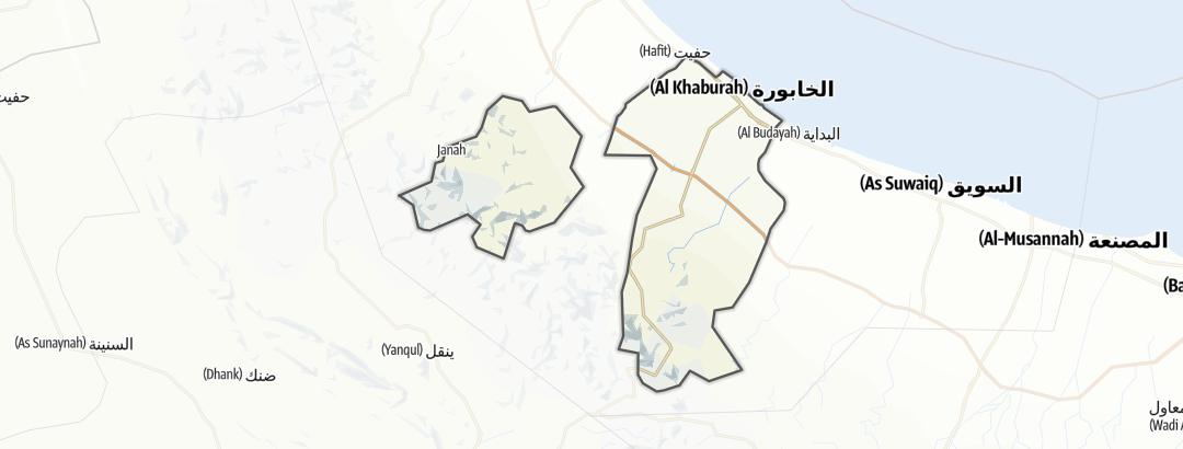 Map / Al Khaburah