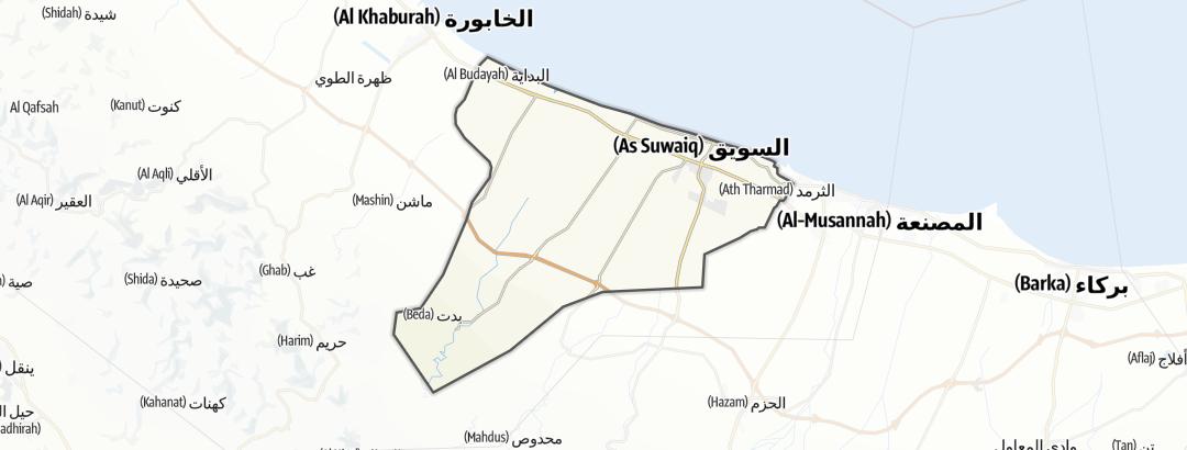 Karte / As Suwayq