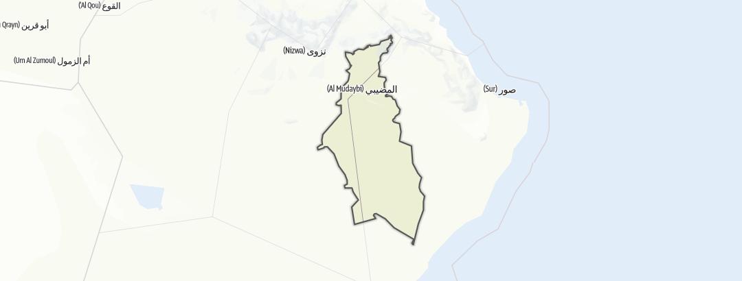 Карта / Al Mudaybi