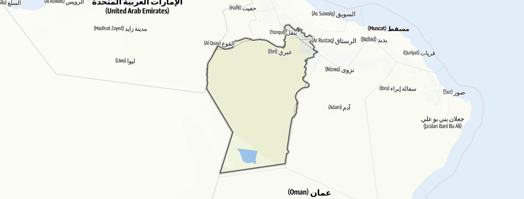 Map / Ibri