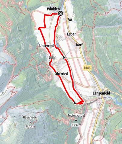 Map / Rieder Seite - Längenfeld
