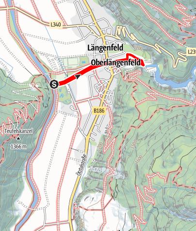 Karte / Fischbachrunde - Längenfeld