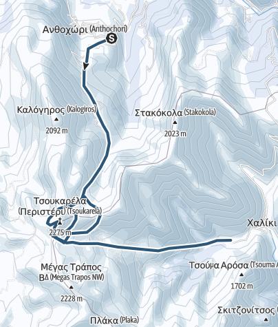 Karte / Pindos_Lakmos_Führer