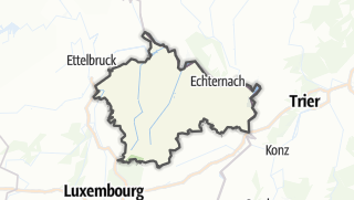 Carte / Mullerthal, Petite Suisse Luxembourgeoise