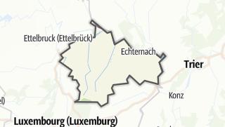 Map / Region Müllerthal