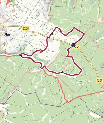 Karte / Paradies im Fuhrtsbachtal
