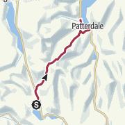 Map / Grasmere to Patterdale/Glenridding (via St Sunday Crag)