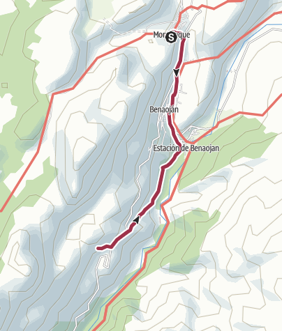 地图 / Rundwanderung Montejaque (Cueva de la Pileta)