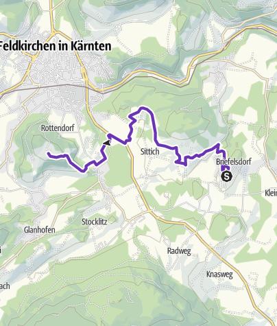 Karte / Weingarten-Trail easy