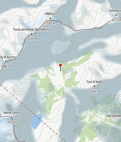 Karte / Citta di Arona Rifugio an der Alpe Veglia (1750 m)