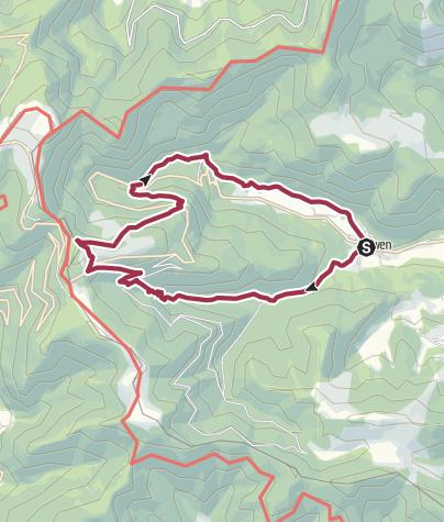 Carte / Sewen et ses lacs