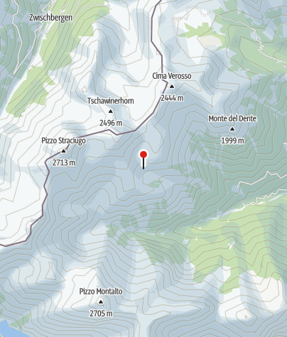 Karte / Rifugio Alpe il Laghetto