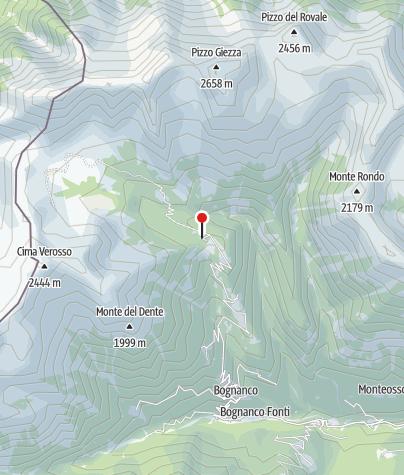 Karte / Rifugio San Bernardo