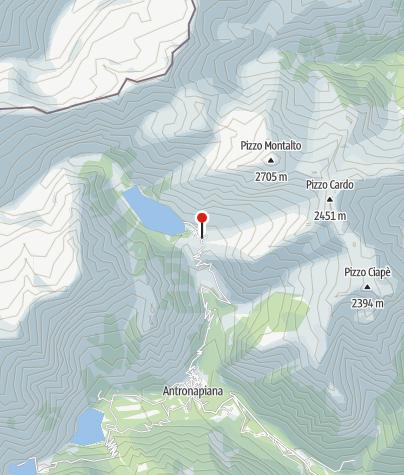 Karte / Rifugio Cittá di Novara, Alpe Cheggio
