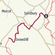Map / Cotswold Way - Chipping Campden to Stanton - Digital Delivery