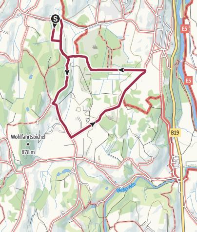Karte / Entdecker-Tour durchs Tiefenberger Moos