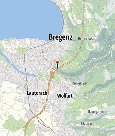 Karte / Burgruine Hohen Bregenz, Gebhardsberg