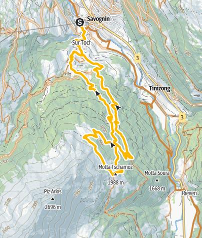 Karte / 658 Bela Vista Savognin