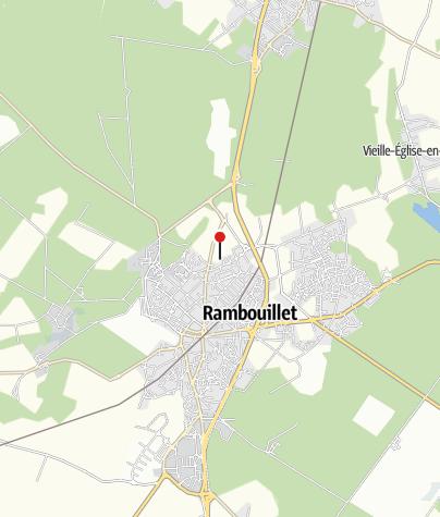 Carte / La Véloscénie : de Rambouillet au Mont Saint Michel à vélo