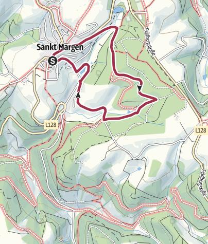 Karte / Auf der Pirsch im Pfisterwald