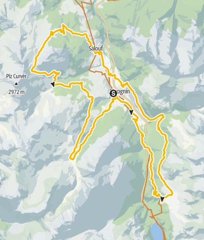 Map / Surses Marathon