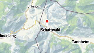 """Karte / Mehrtagestour Graubünden """"Schweizer Trailtoleranz"""""""