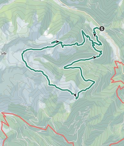 Map / Trekking Monte Pastronezze