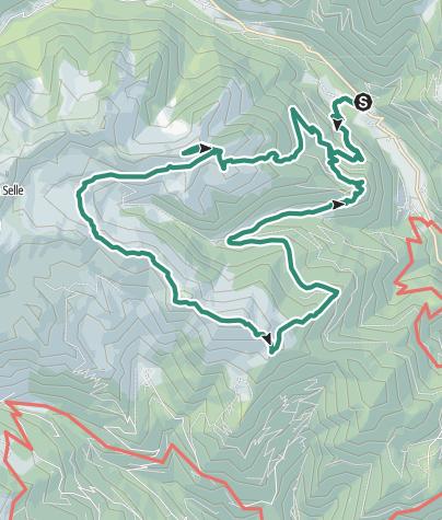 Karte / Trekking Monte Pastronezze