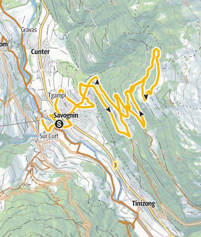 Map / 663 Giovanni's Paradies