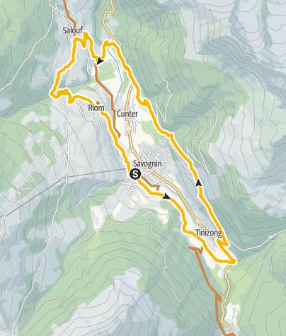 Karte / 6-Dörfer-Giro