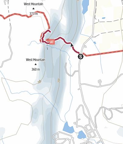 Map / Dover Oak to Cat Rocks