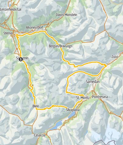 Map / Piz Nair