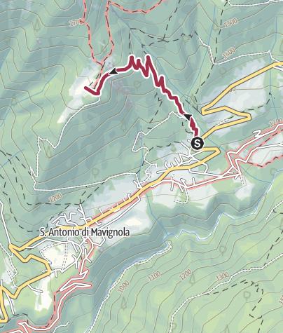 Karte / Mavignola - Claemp